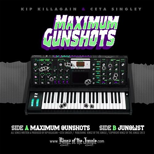 Maximum Gunshots / Junglist by Kip Killagain