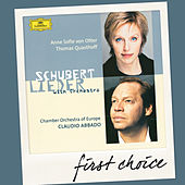 Schubert: Lieder With Orchestra by Various Artists