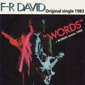 Words (Original Single 1982) by F. R. David