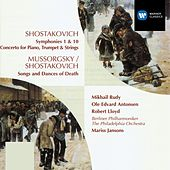 Shostakovich:Symphonies 1 & 10/Concerto for Piano, Trumpet, Strings/Songs & Dances of Death by Philadelphia Orchestra