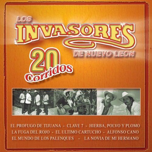 20 Corridos by Los Invasores De Nuevo Leon