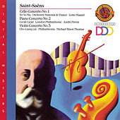 Saint-Saëns: Cello Concerto No. 1; Piano Concerto No. 2; Violin Concerto No. 3 by Various Artists