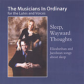 Sleep Wayward Thoughts by Musicians In Ordinary