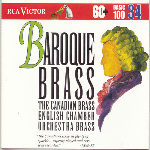 Baroque Brass by Various Artists