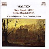 Piano Quartet / String Quartet by Sir William Walton