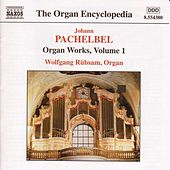 Organ Works Vol. 1 by Johann Pachelbel