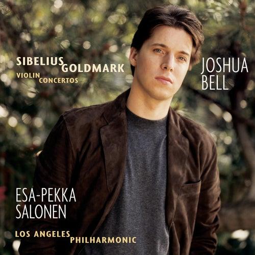 Sibelius/Goldmark:  Violin Concertos by Joshua Bell