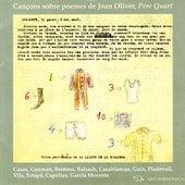 Cançons Sobre Poemes De Joan Oliver, Pere Quart by Adolf Pla