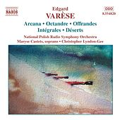 Arcana / Intégrales / Déserts by Edgard Varèse