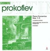 Prokofiev : Piano Concertos Nos 1- 5 by Vladimir Krainev