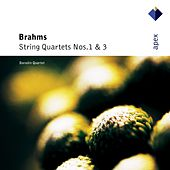 Brahms : String Quartets Nos 1 & 3 by Borodin String Quartet