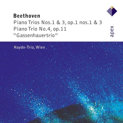 Beethoven : Piano Trios Nos 1, 3 & 4  -  APEX by Haydn Trio Wien