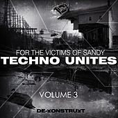 Techno Unites 'Victims of Sandy' Volume III by Various Artists
