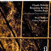Debussy, Britten & Bacri: Sonatas for Cello and Piano by Marie Hallynck