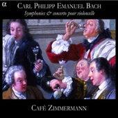 C. P. E. Bach: Symphonies & concerto pour violoncelle by Various Artists