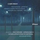 Debussy: Trois nocturnes - Printemps - Prelude a l'apres-midi d'un faune - Rapsodie pour clarinette - Deux danses by Various Artists