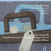 Brouwer: Concierto Elegiaco, Danzas Concertantes & Quintet by Denis Sung-ho Janssens
