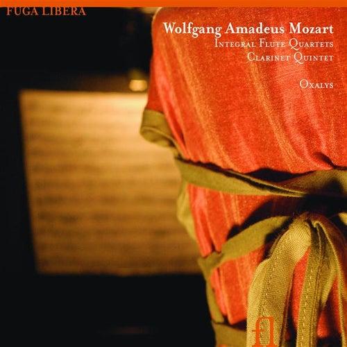 Mozart: Integral Flute Quartets, Clarinet Quintet by Oxalys