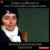 Beethoven: Concerti 3 & 6 pour le pianoforte avec accompagnement d'orchestre by Arthur Schoonderwoerd