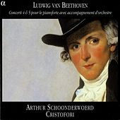 Beethoven: Piano Concertos Nos. 4 and 5 by Arthur Schoonderwoerd