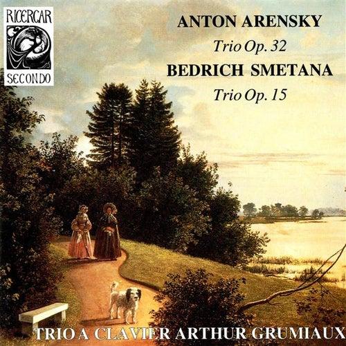 Arensky: Trio, Op. 32 - Smetana: Trio, Op. 15 by Arthur Grumiaux Trio