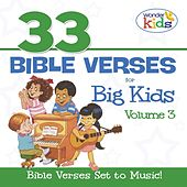 33 Bible Verses for Big Kids, Vol. 3 by Wonder Kids