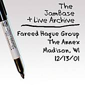 12-13-01 - The Annex - Madison, WI by Fareed Haque Group