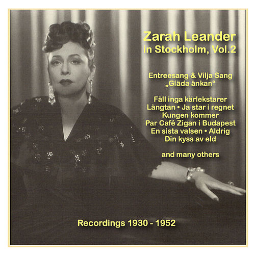 Icons of German Cinema: Zarah Leander in Stockholm, Vol. 2 (1930-1952) by Zarah Leander (1)