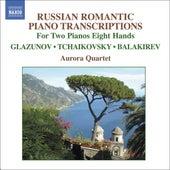 TCHAIKOVSKY / BALAKIREV / GLAZUNOV: Arrangements for 2 Pianos 8 Hands by Aurora Quartett