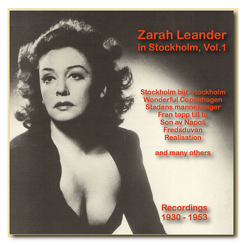 Icons of German Cinema: Zarah Leander in Stockholm, Vol. 1 (1930-1953) by Zarah Leander (1)
