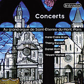 Concerts Au Grand Orgue De Saint-Étienne-Du-Mont by Daniel Roth