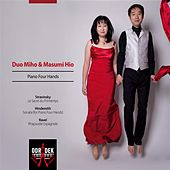 Piano Four Hands: Stravinsky: Rite of Spring - Hindemith: Sonata for Piano Four Hands - Ravel: Rhapsodie Espagnole by Duo Miho