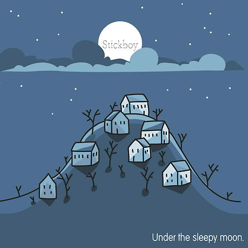 Under the Sleepy Moon by Stickboy