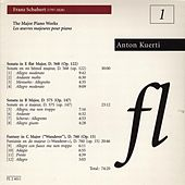 Franz Schubert: The Major Piano Works (Les Oeuvres Majeures Pour Piano) by Anton Kuerti
