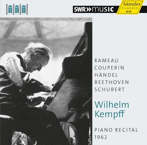 Wilhelm Kempff: Piano Recital, 1962 by Wilhelm Kempff