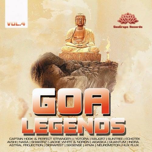 Goa Legends Vol. 4 by Various Artists