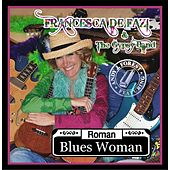 Roman Blues Woman by francesca de fazi