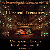 Classical Treasures Composer Series: Paul Hindemith, Vol. 1 by Various Artists