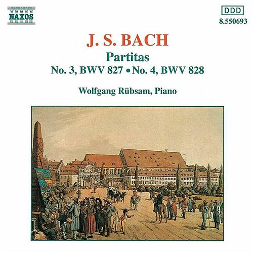 Partitas Nos. 3 and 4 by Johann Sebastian Bach