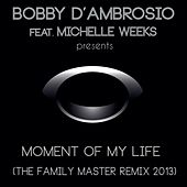 Moment Of My Life (The Family Master Remix 2013) (feat. Michelle Weeks) by Bobby D. Ambrosio
