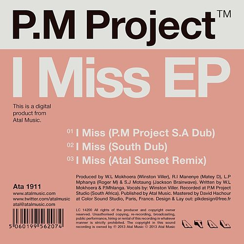 I Miss EP by P.M. Project