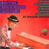 Rag Time, Boogie Woogie Jazz Piano von Various Artists