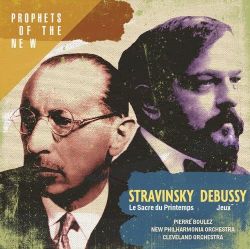 Stravinsky: Le Sacre du Printemps - Debussy: Jeux von Pierre Boulez