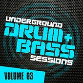 Underground Drum & Bass Sessions Vol. 3 - EP by Various Artists