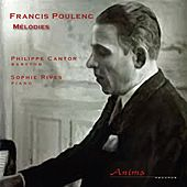 Poulenc: Mélodies by Philippe Cantor