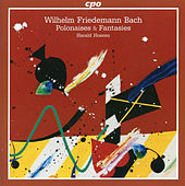 Bach: Polonaises & Fantasies by Harald Hoeren