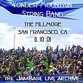 11-10-01 - The Fillmore - San Francisco, CA by Yonder Mountain String Band