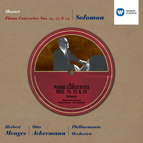 Mozart: Piano Concertos 15, 23 & 24 by Solomon