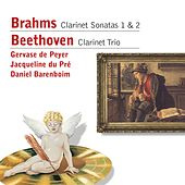 Brahms: Clarinet Sonatas . Beethoven: Clarinet Trio by Jacqueline du Pre