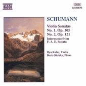 Violin Sonatas Nos. 1 and 2 by Robert Schumann